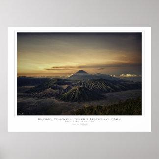 Bromo Tengger Semeru National Park - Indonesia Poster