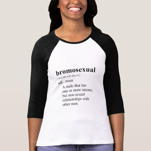 BROMOSEXUAL T-SHIRTS