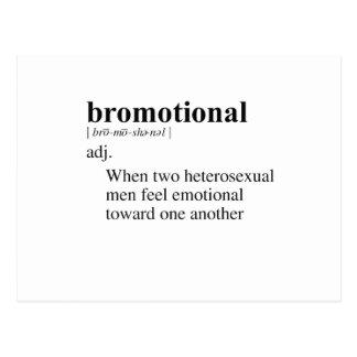 BROMOTIONAL POSTCARD