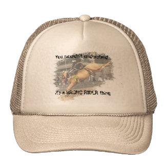 Bronc Rider cap Trucker Hat