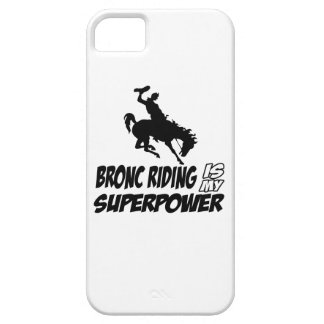 bronc riding my superpower iPhone SE/5/5s case