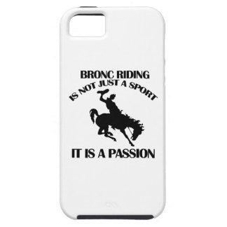 Bronc riding  sports designs iPhone SE/5/5s case