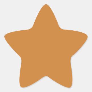 Bronce Calcomanías Forma De Estrella