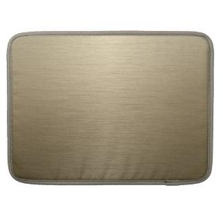 Bronce cepillado funda macbook pro