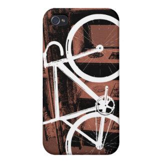 Bronce de Berlín de la bici de la pista iPhone 4 Carcasa