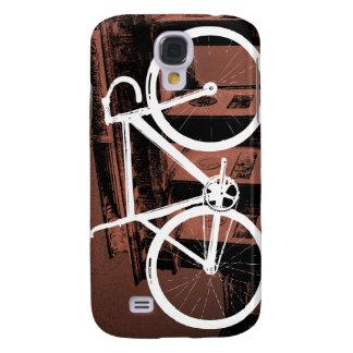 Bronce de Berlín de la bici de la pista Funda Para Galaxy S4