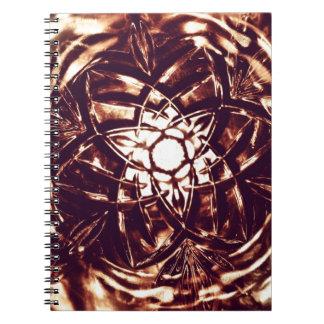 Bronce * libros de apuntes con espiral