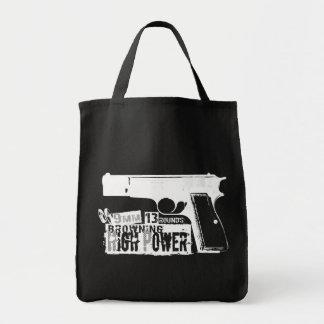Bronceado de Hola-Poder Bolsas Lienzo