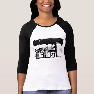 Bronceado de Hola-Poder Camisetas