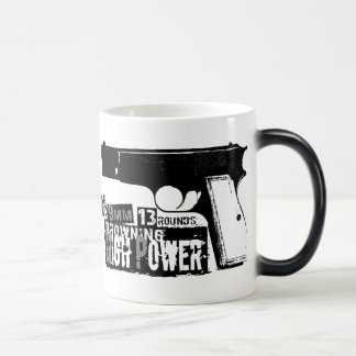 Bronceado de Hola-Poder Taza De Café