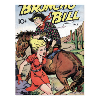 Broncho Bill Tarjeta Postal