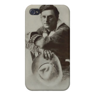 Broncho Billy Anderson 1913 vintage portrait case iPhone 4/4S Cases