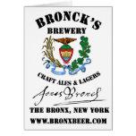 Broncks Brewert Tarjeta