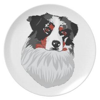 Bronco Aussie Dinner Plate