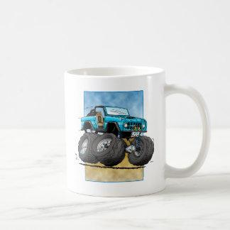 Bronco_Blue.png Classic White Coffee Mug