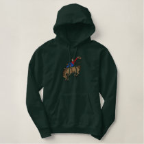 Bronco Buster Embroidered Hoodie