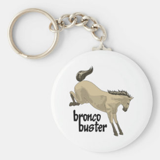 BRONCO BUSTER KEYCHAINS