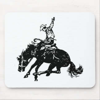 Bronco Buster Mouse Pad