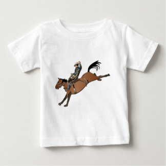 Bronco Buster without Text Baby T-Shirt