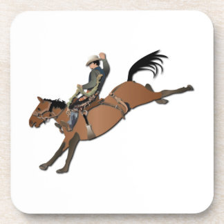 Bronco Buster without Text Beverage Coaster