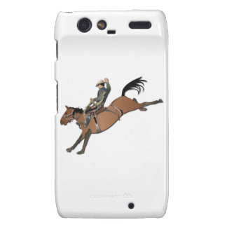 Bronco Buster without Text Droid RAZR Covers