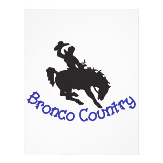 Bronco Country Letterhead