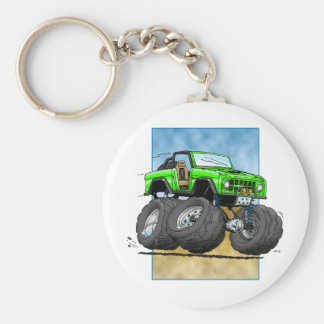 Bronco_Green.png Keychain