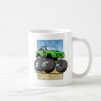 Bronco_Green.png Classic White Coffee Mug
