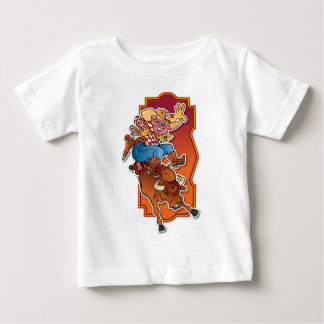 Bronco Pig Baby T-Shirt
