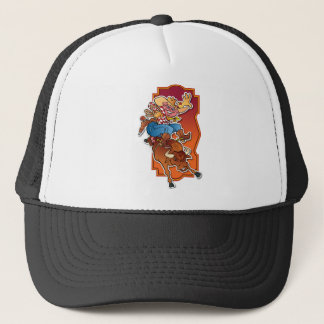 Bronco Pig Trucker Hat