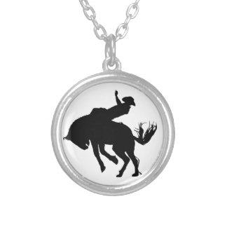 Bronco Rider Necklace