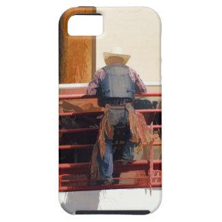 Bronco Rider Saddling Up iPhone SE/5/5s Case