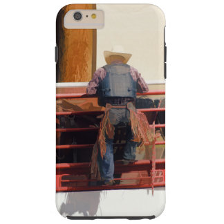 Bronco Rider Saddling Up Tough iPhone 6 Plus Case