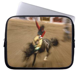 Bronco rider (zoom) computer sleeve