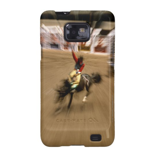Bronco rider (zoom) samsung galaxy SII cover