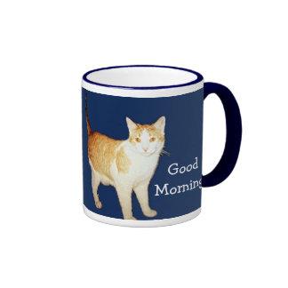 Bronco The Cat Ringer Coffee Mug