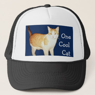 Bronco The Cat Trucker Hat