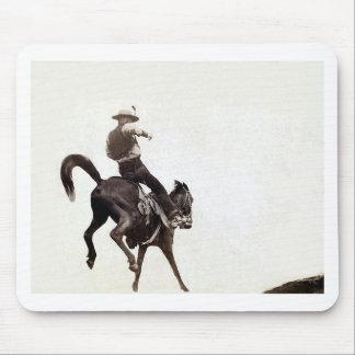 Bronco Vintage Print Mouse Pad