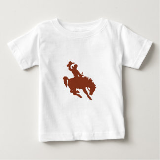 Bronco with Rider Baby T-Shirt
