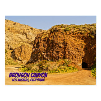 Bronson Canyon Los Angeles California Postcard