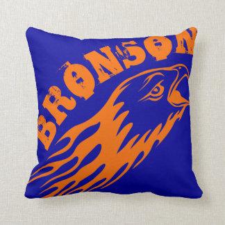 Bronson Eagles Design Throw Pillow