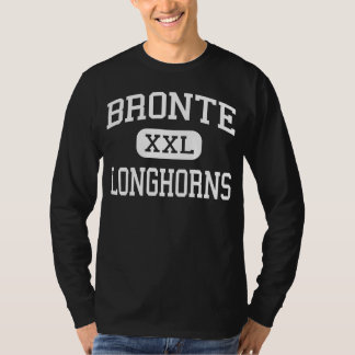 Bronte - Longhorns - High School - Bronte Texas T-Shirt