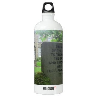 Bronte Parsonage in Haworth Aluminum Water Bottle
