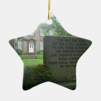 Bronte Parsonage in Haworth Ceramic Ornament