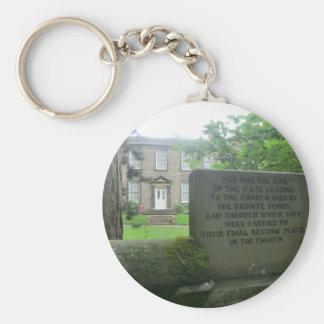 Bronte Parsonage in Haworth Keychain