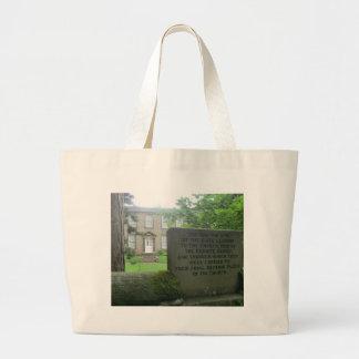 Bronte Parsonage in Haworth Large Tote Bag