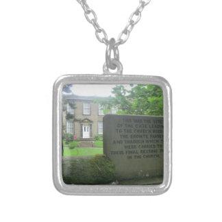 Bronte Parsonage in Haworth Pendant