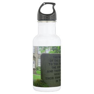 Bronte Parsonage in Haworth Stainless Steel Water Bottle