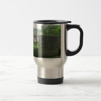 Bronte Parsonage in Haworth Travel Mug