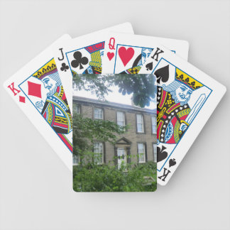 Bronte Parsonage in Haworth, Yorkshire Bicycle Playing Cards